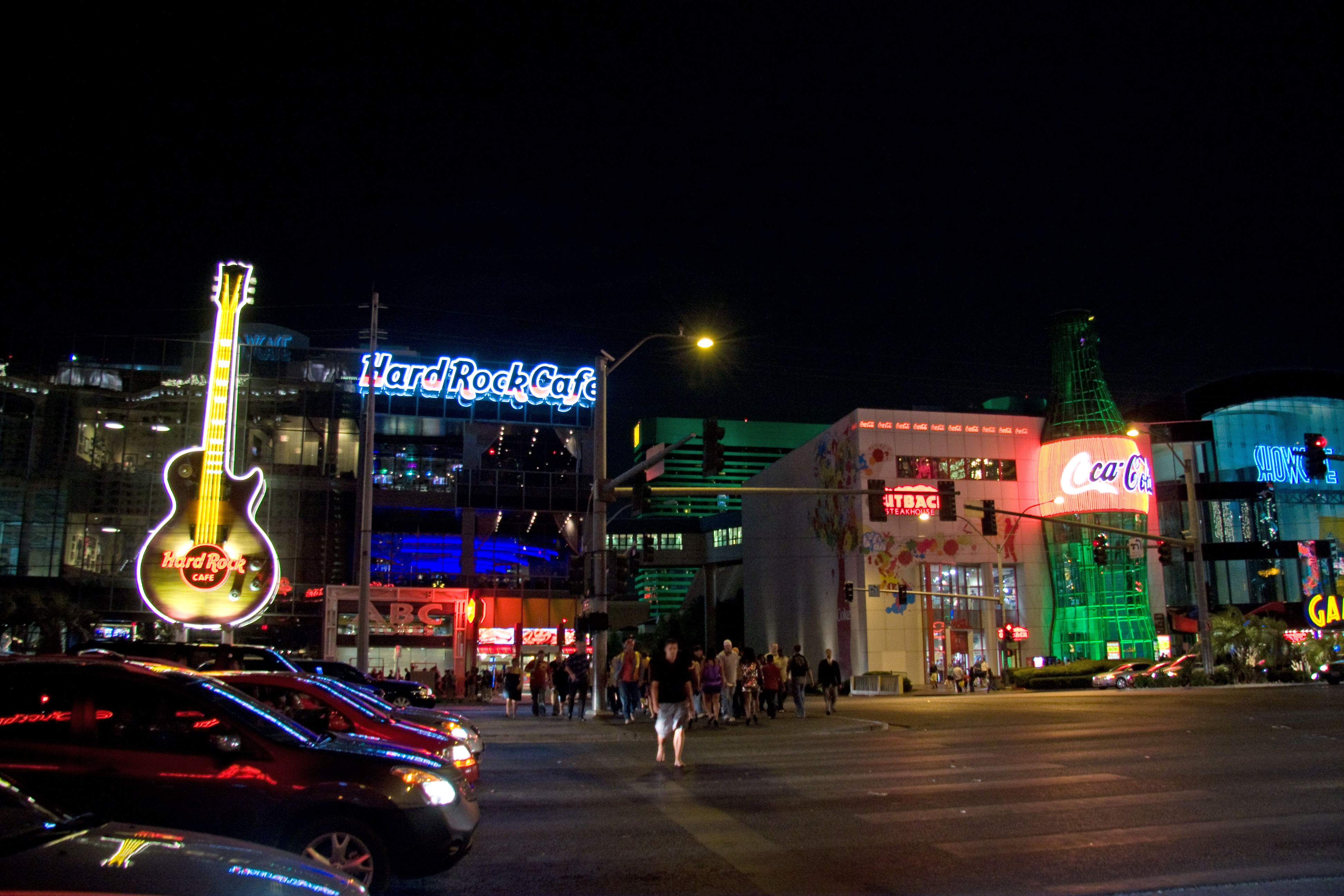 The Hard Rock Cafe Las Vegas