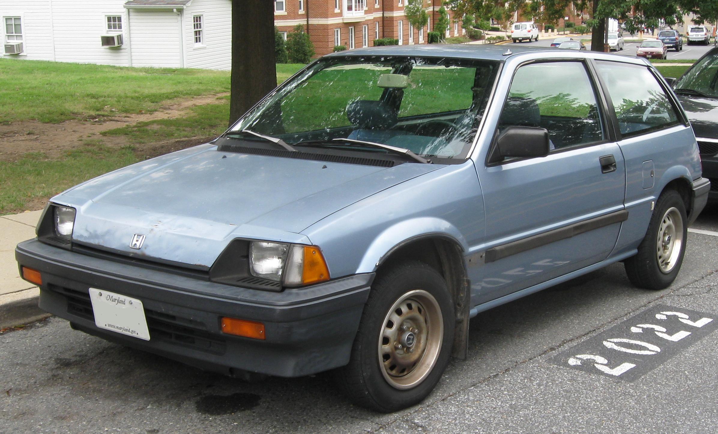 File honda civic dx hatchback front 09 12 for 1984 honda civic