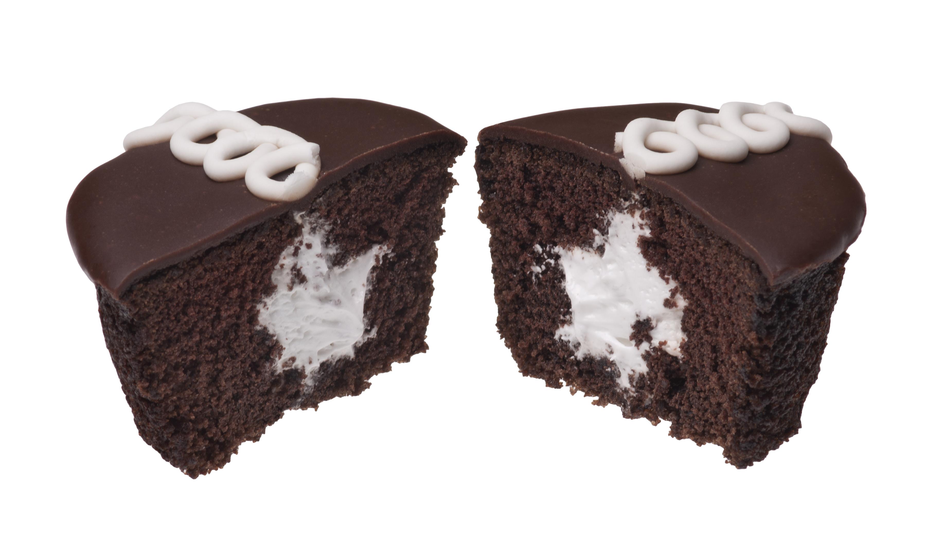 Split Cream Filled Brioche Cake Streusel Topped