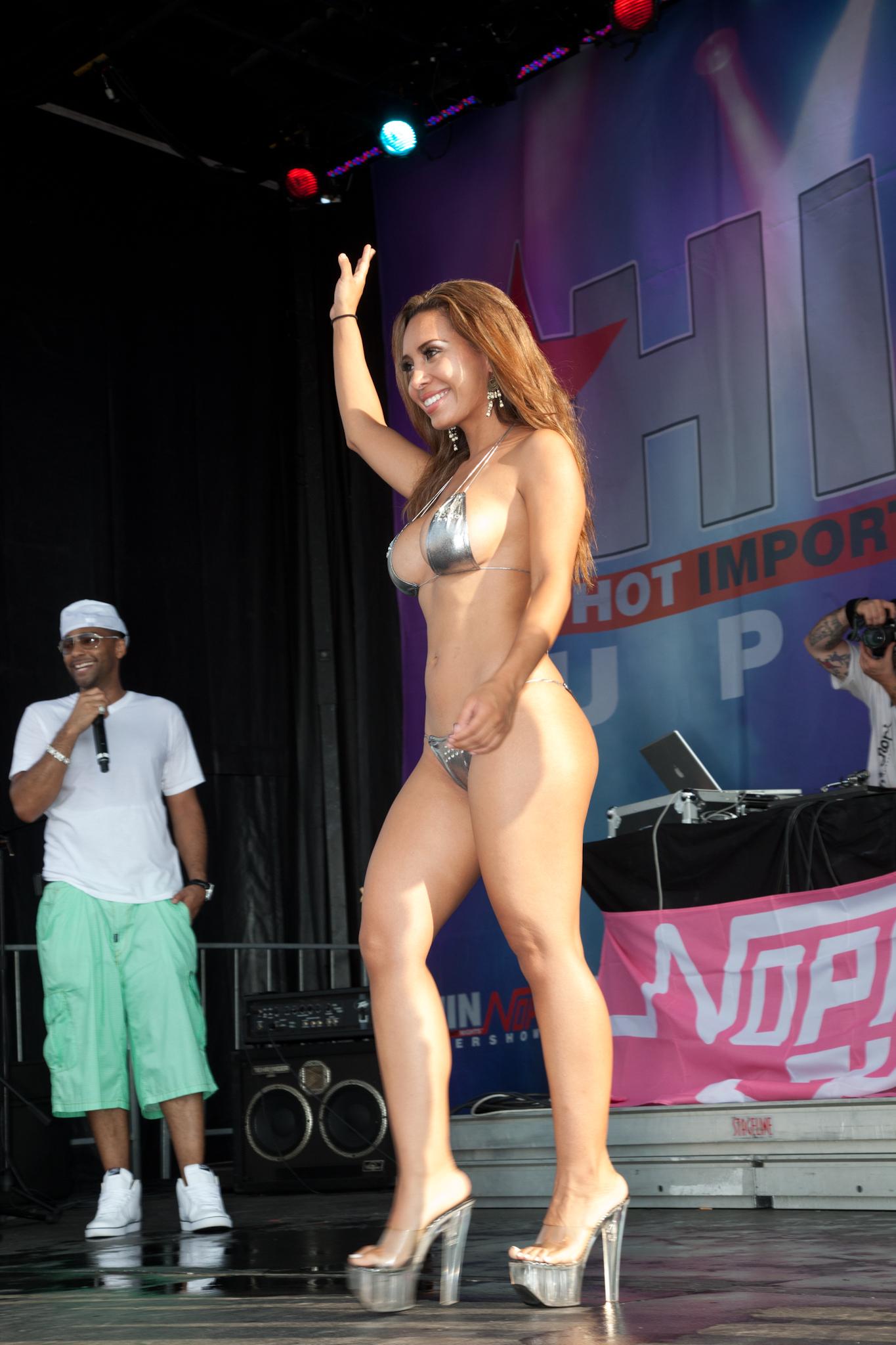 bikini contest silver