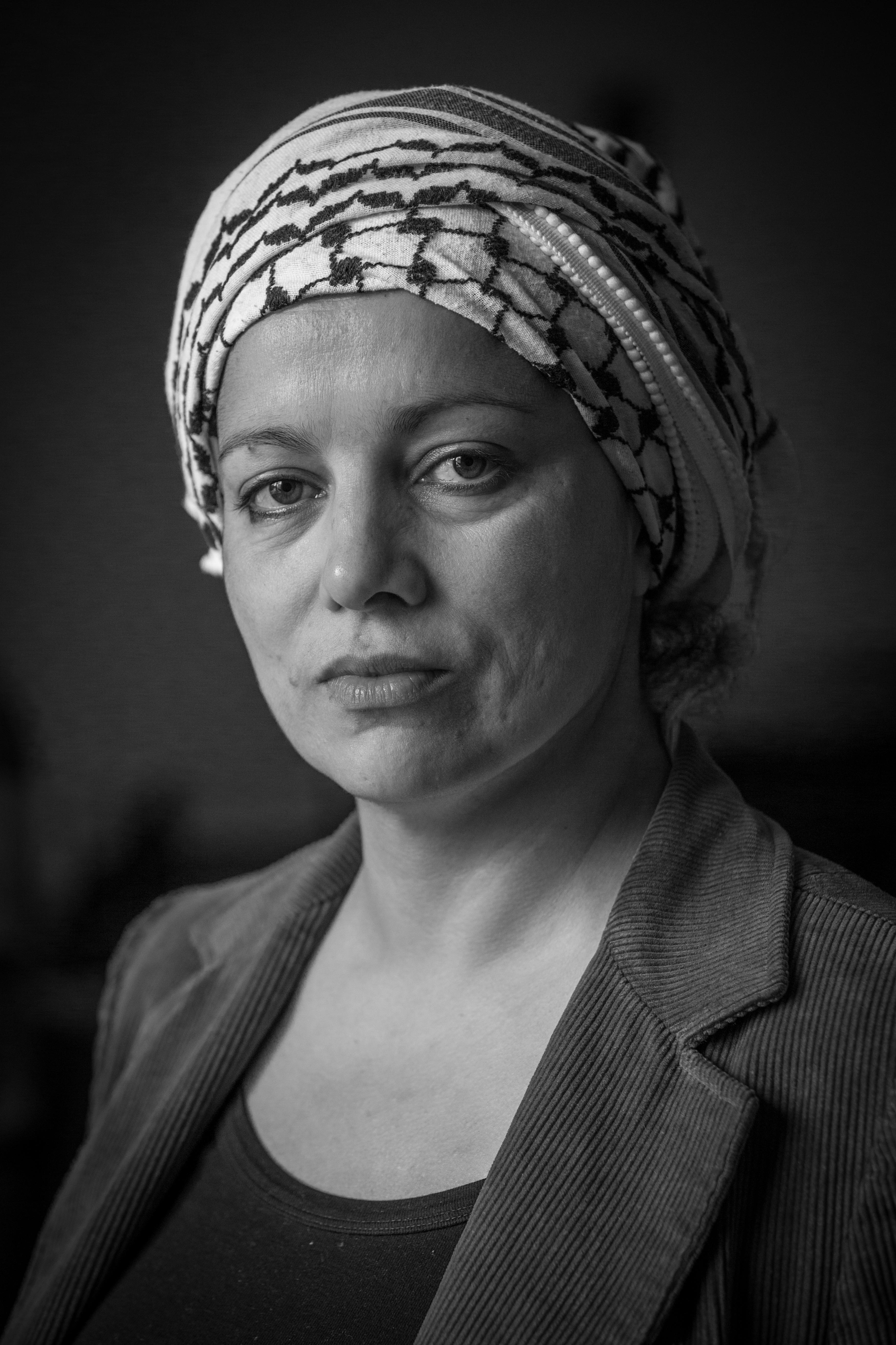 "Algerian ""anti-colonial"" activist Houria Bouteldja"