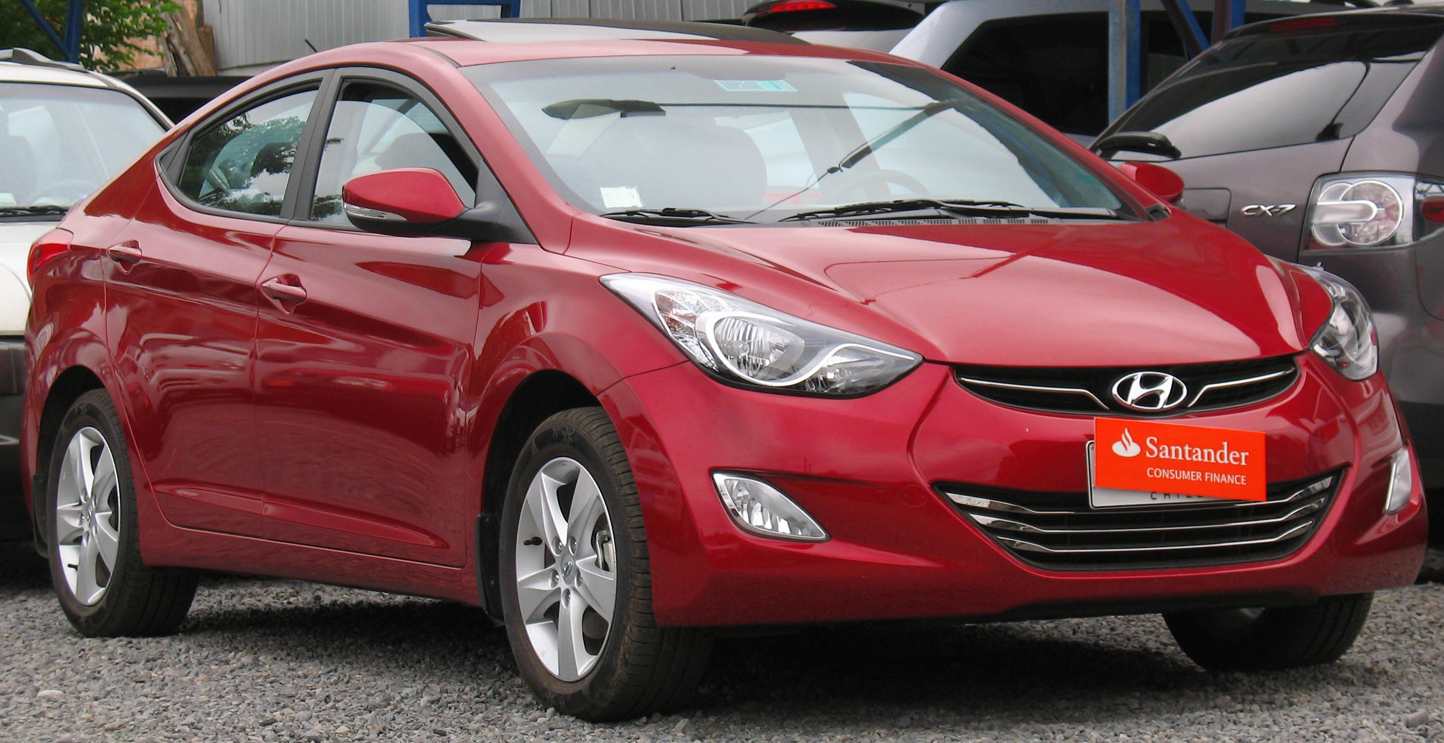 Hyundai Elantra: Consumer information