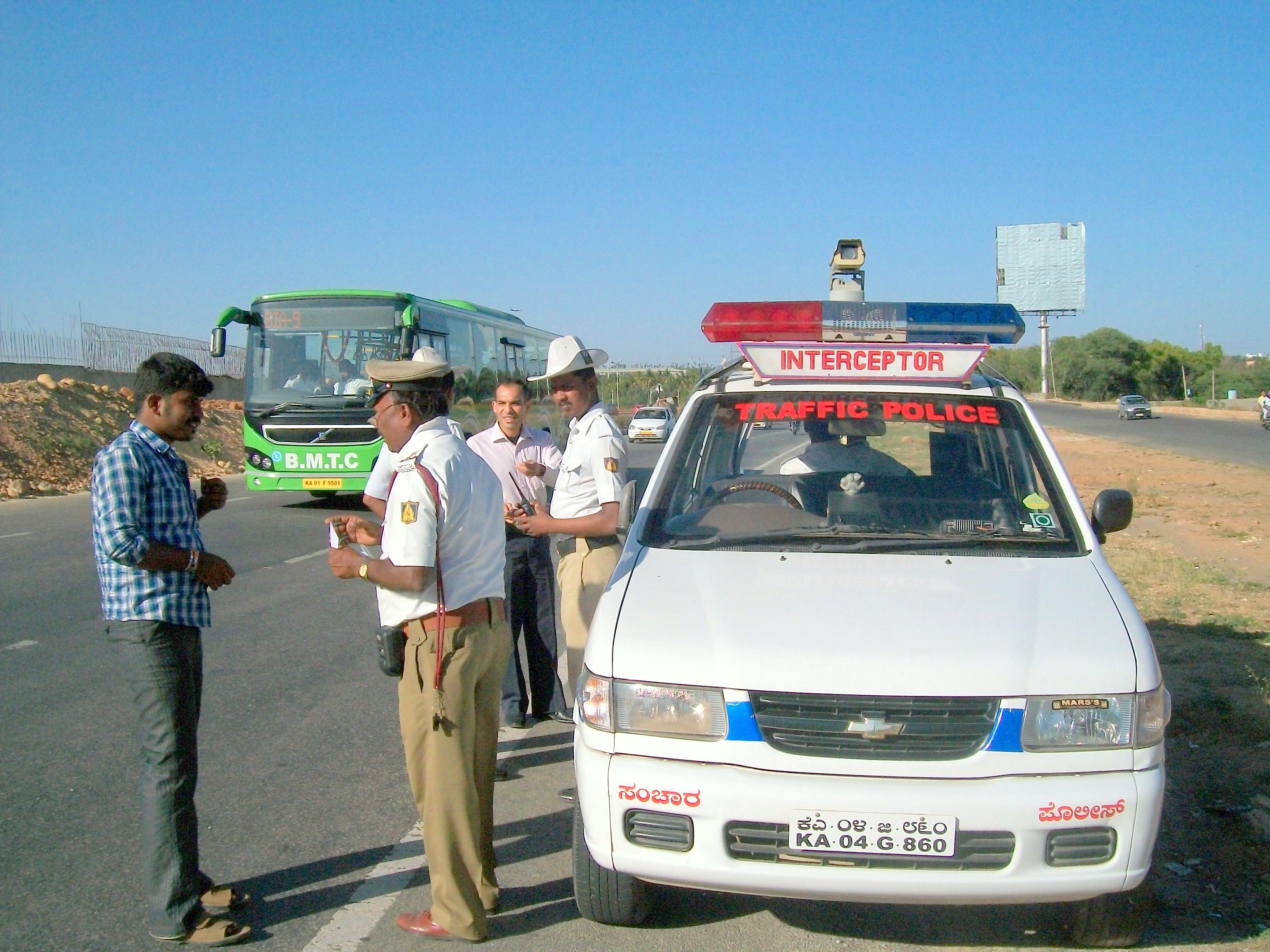 Bangalore Traffic Police E- Challan