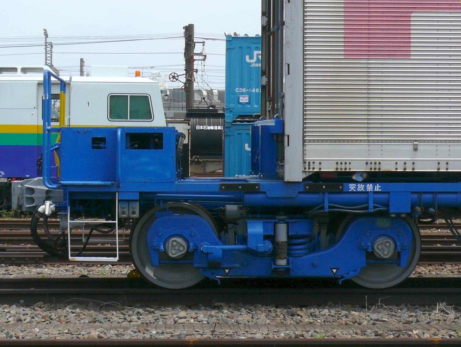 JR貨物コキ110形貨車