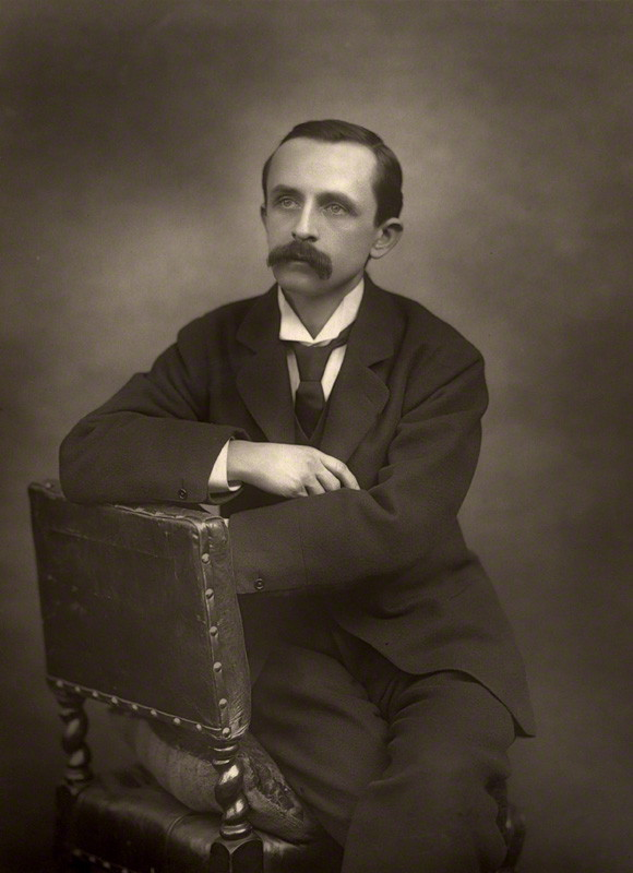 Photo of J. M. Barrie