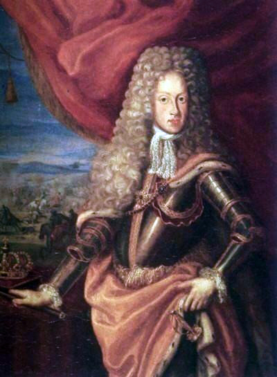 Joseph I; his death in 1711 changed the entire political position Joseph I, Holy Roman Emperor.jpg