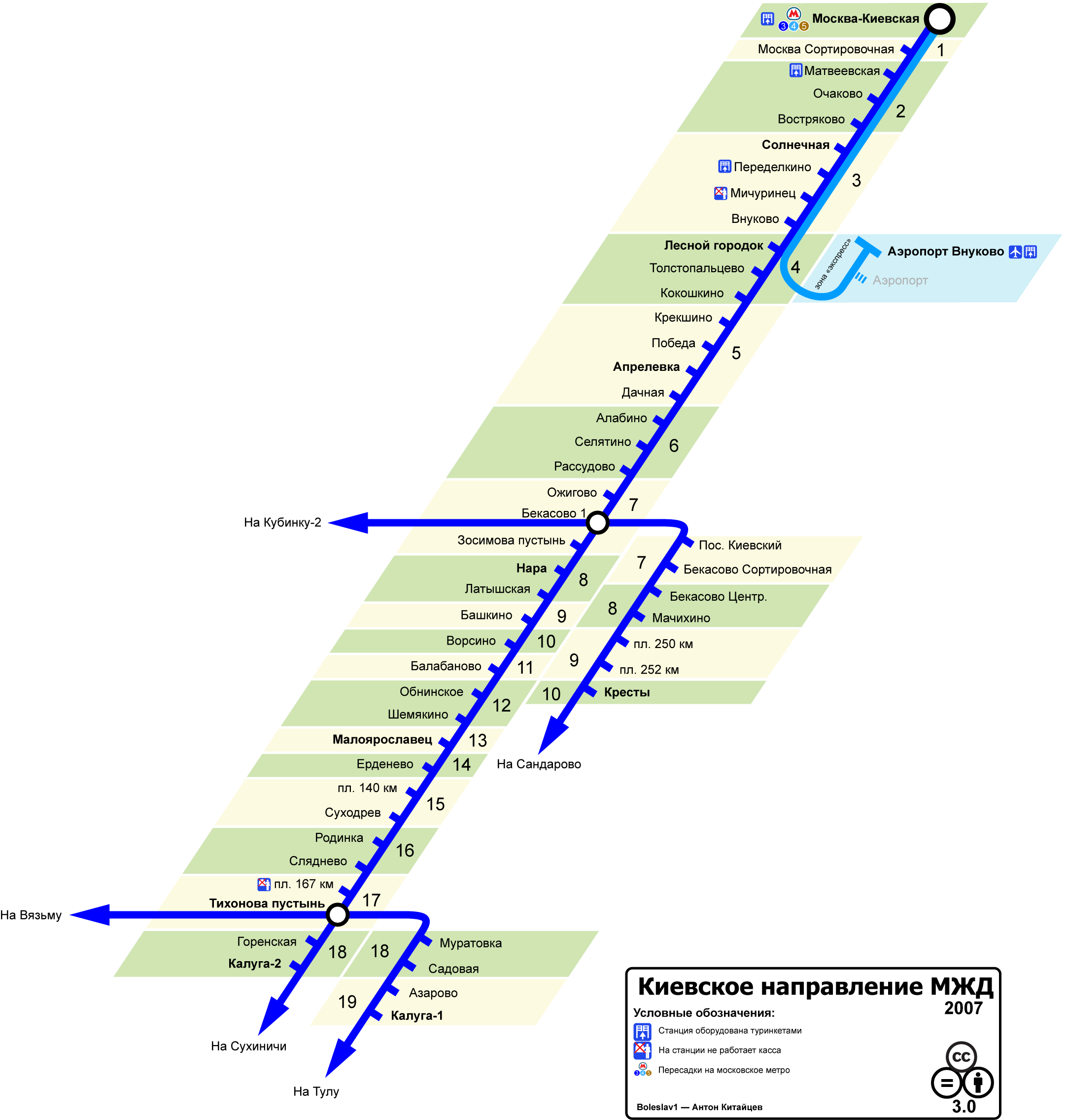 Киевский вокзал схема путей