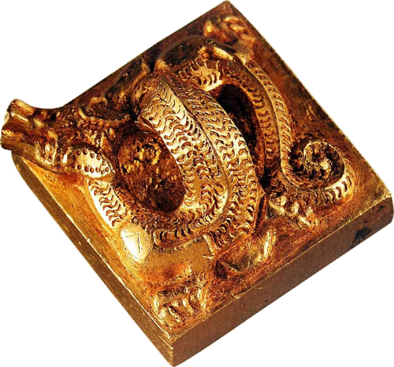 King of Nanyue imperial seal knob top.png