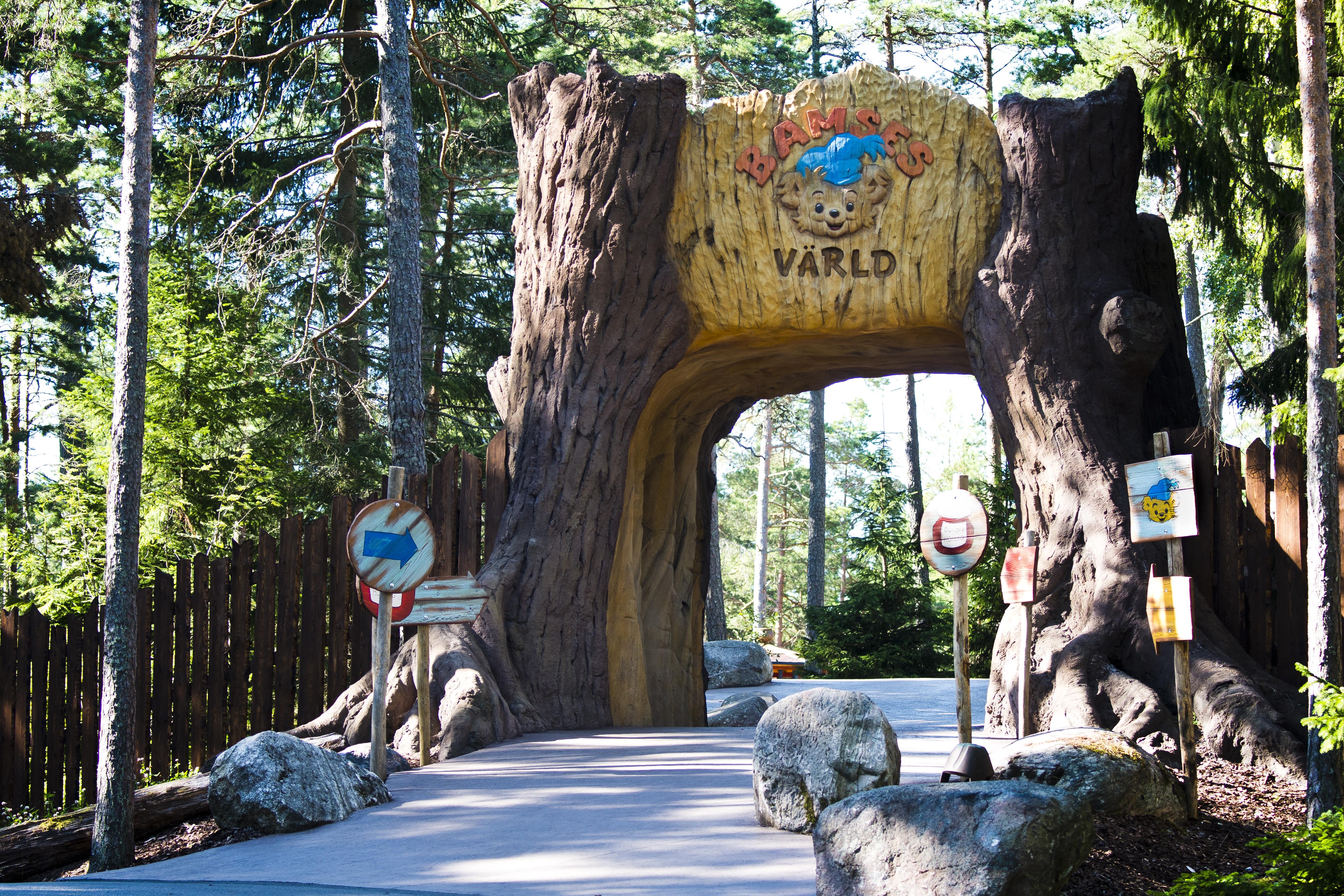 Filkolmårdens Djurpark Bamses Värld 2jpg Wikipedia