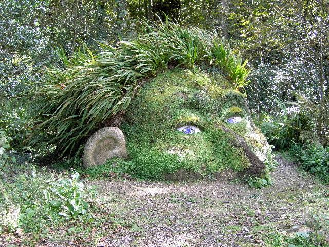 statue de jardin zen