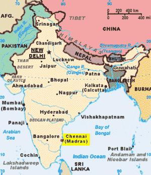 Chennai Madras, Freight Terminal