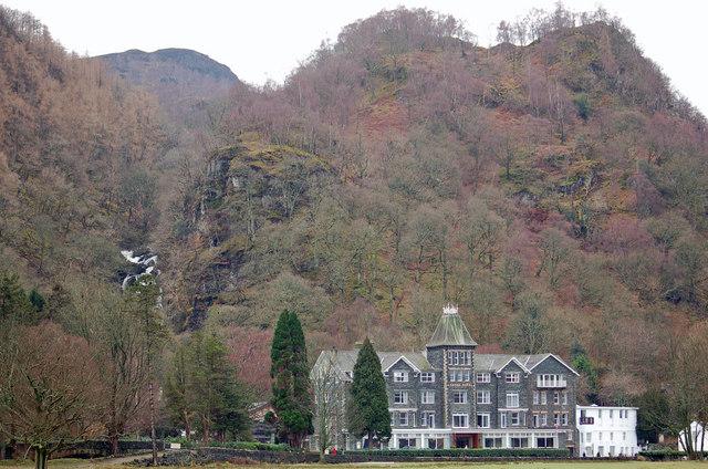 Lodore Falls Hotel, Derwentwater - geograph.org.uk - 568194