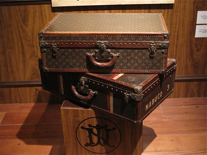 Louis Vuitton Malletier Paris Historical Suitcases luggage