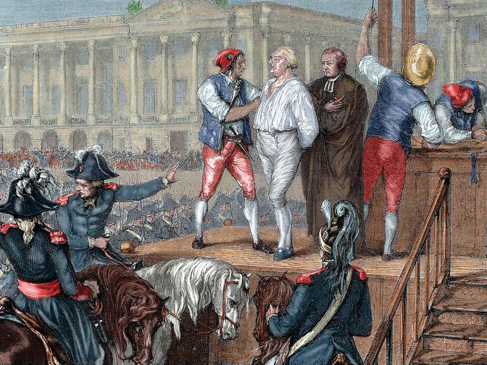 Ejecución de Luis XVI - Wikipedia, la enciclopedia libre