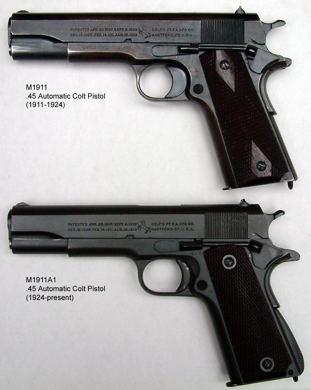 The Rehabilitation Branch [Discussion Thread] - Page 2 M1911_and_M1911A1_pistols