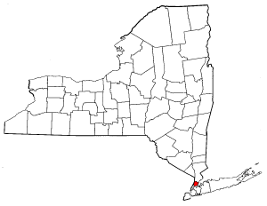 Map of New York highlighting Bronx County.png