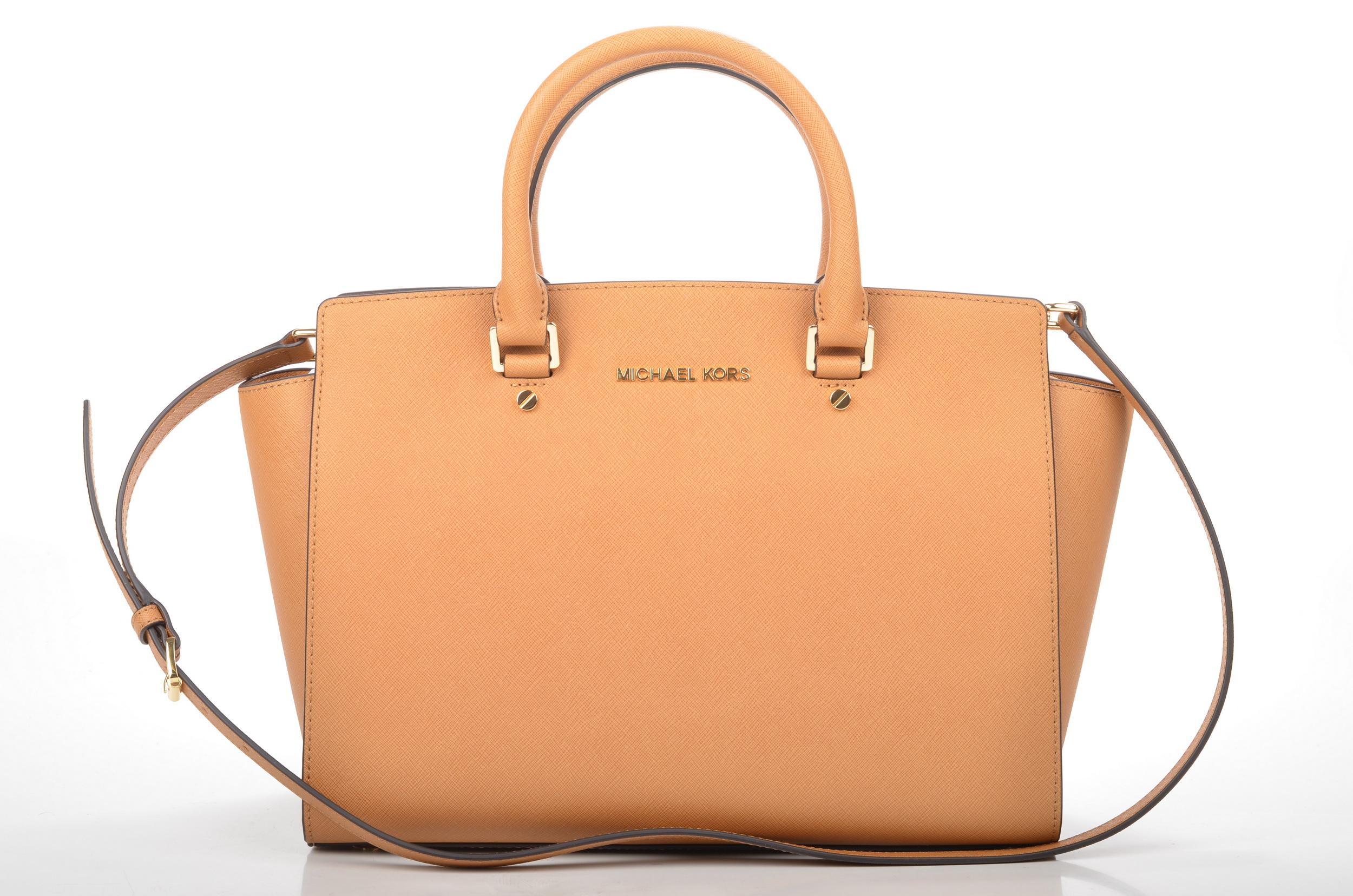 michael kors handtasche peach