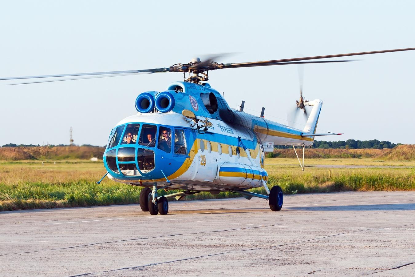 Вертолеты ВСУ ушли на калым