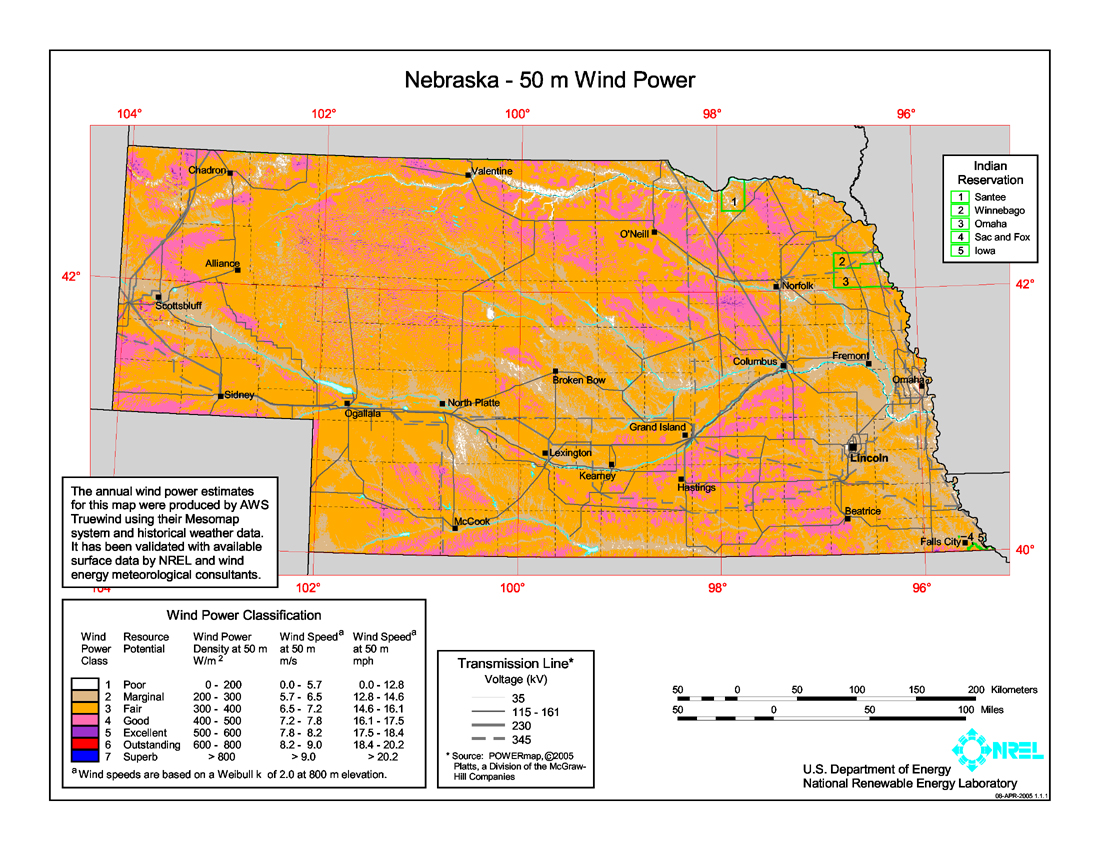Wind Power In Nebraska Wikipedia
