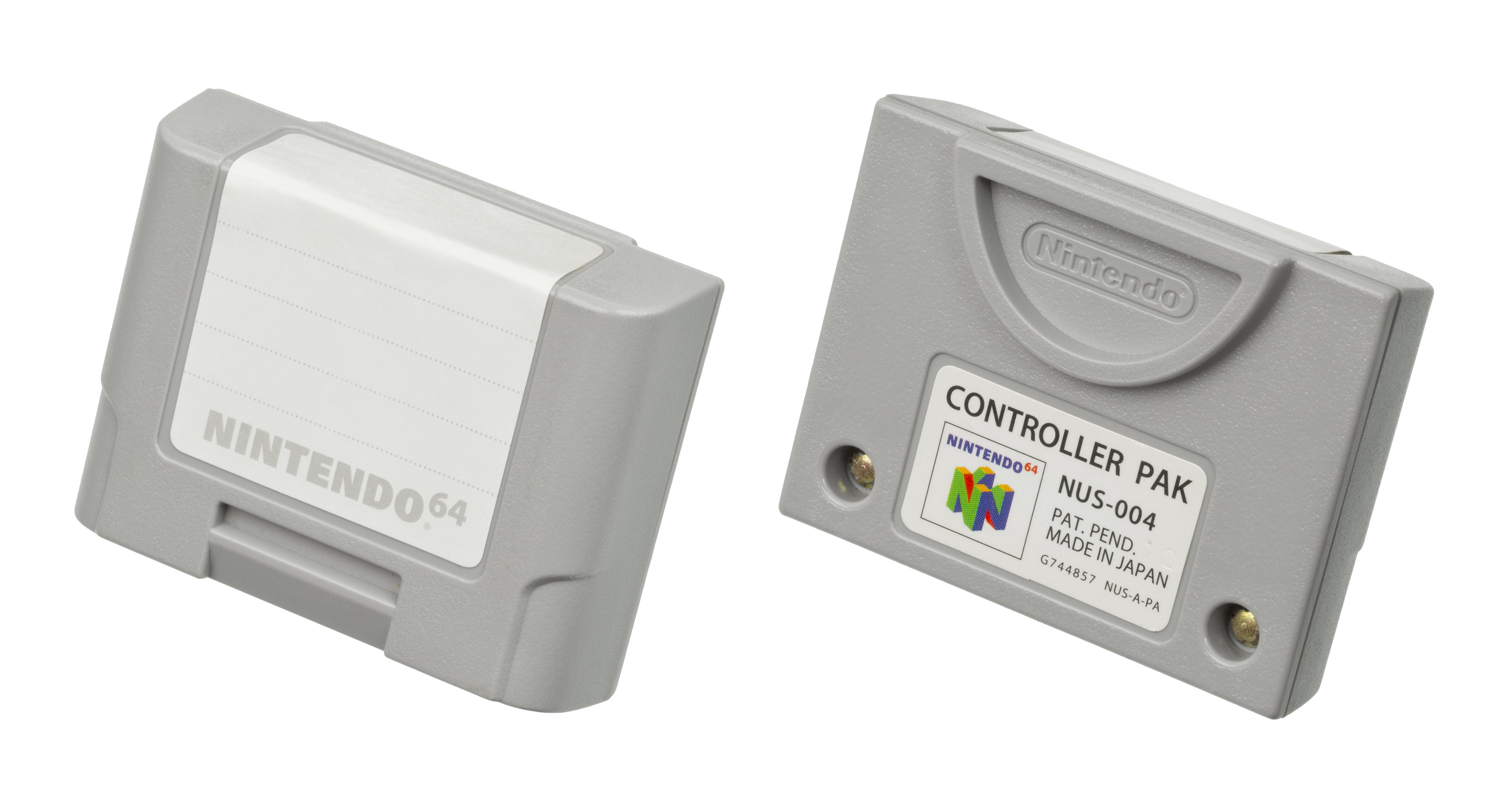 File:Nintendo-64-Controller-Pak jpg - Wikimedia Commons