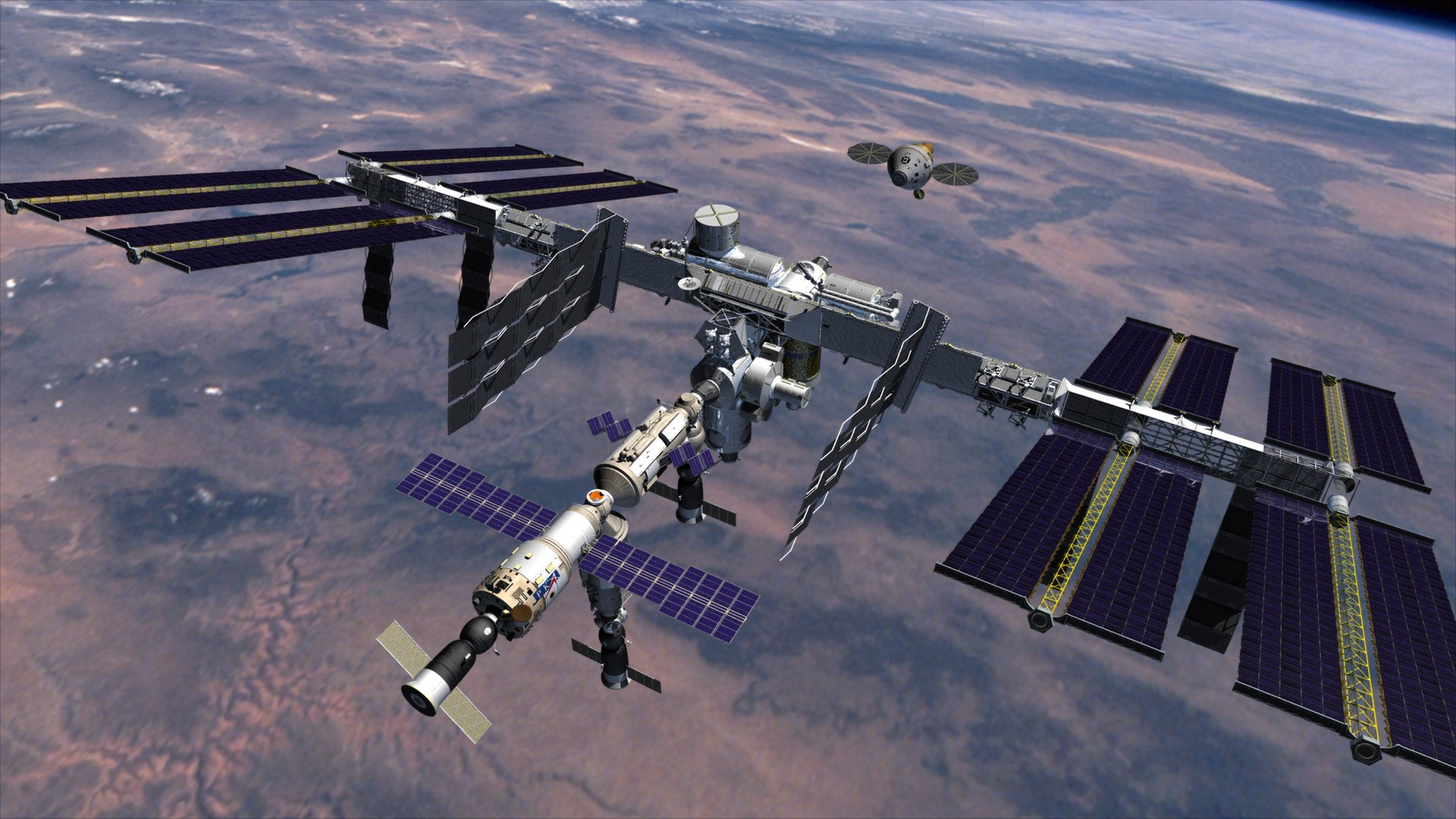 history of the space station idea and the worldwide project of the international space station