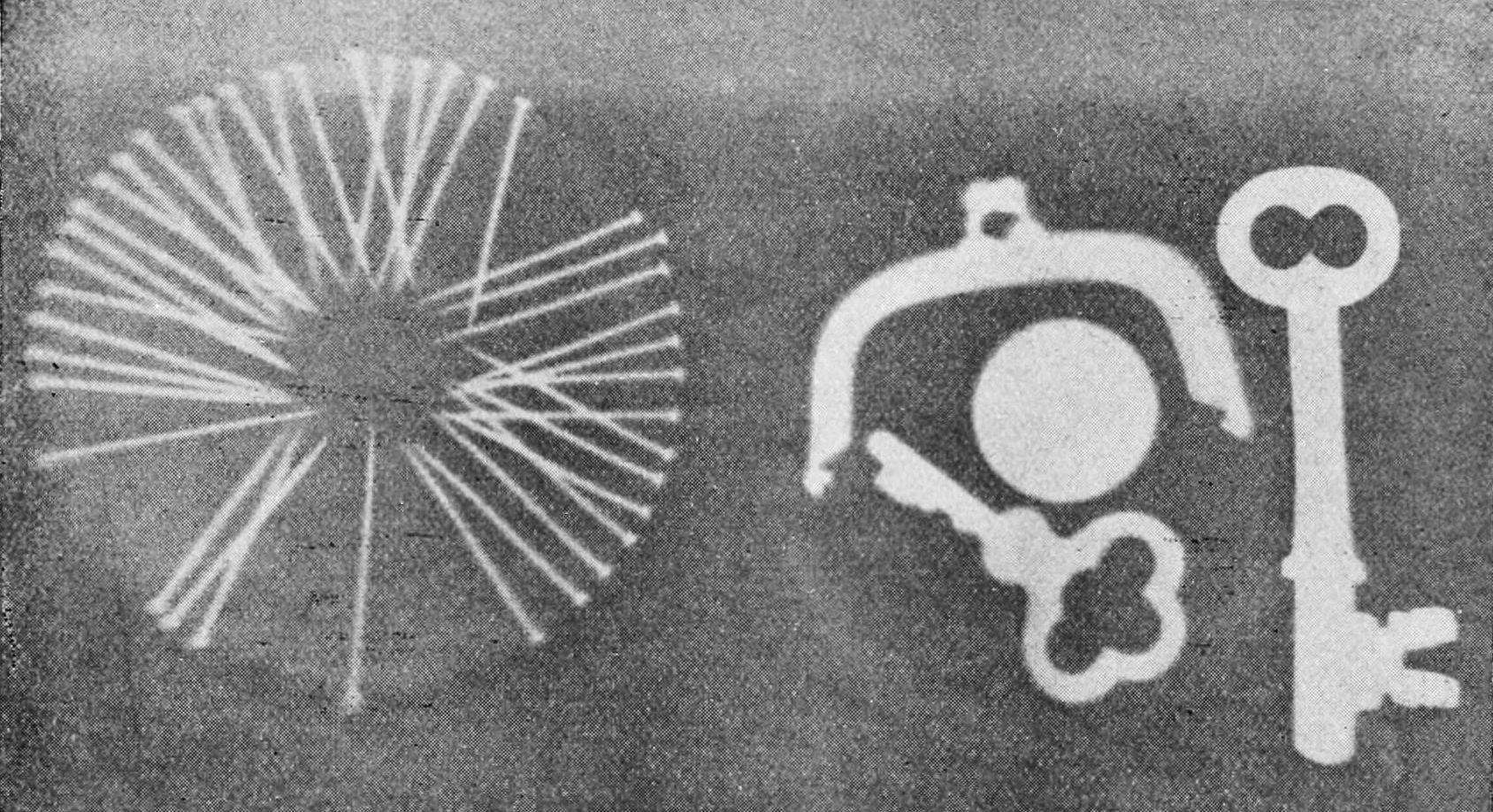 Prima radiografia di prova