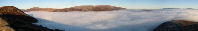 Panorama of Beinn a' Bhuird from Derry Cairngorm - geograph.org.uk - 267858