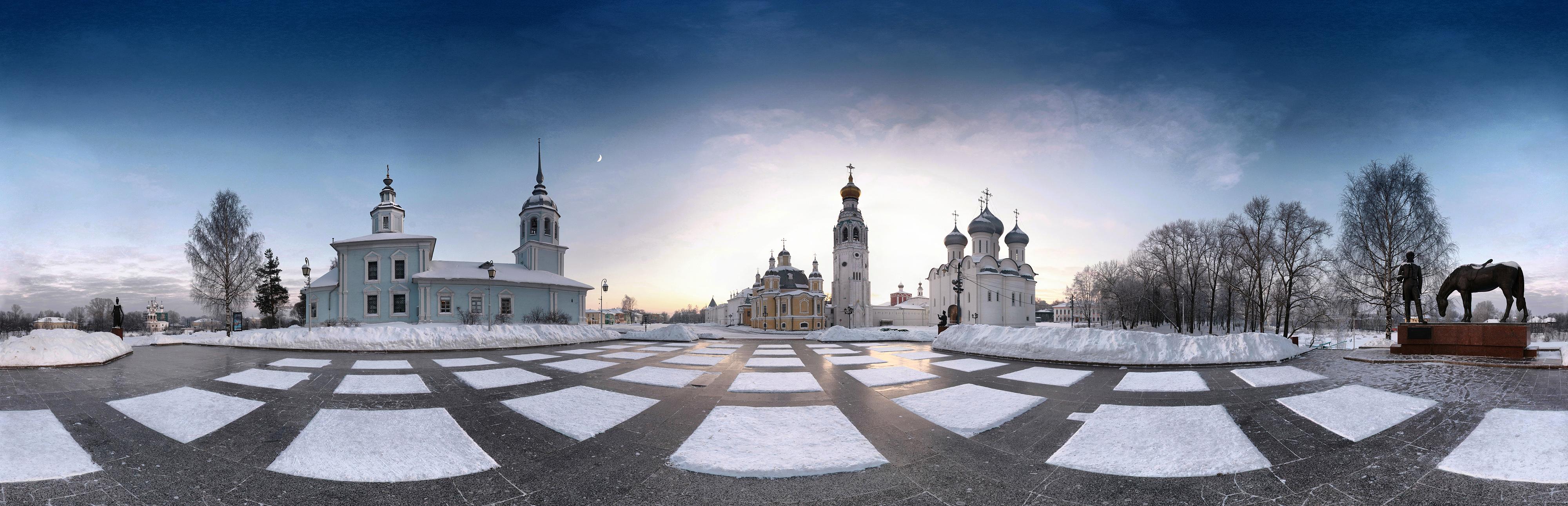 Зимняя панорама Соборной горки