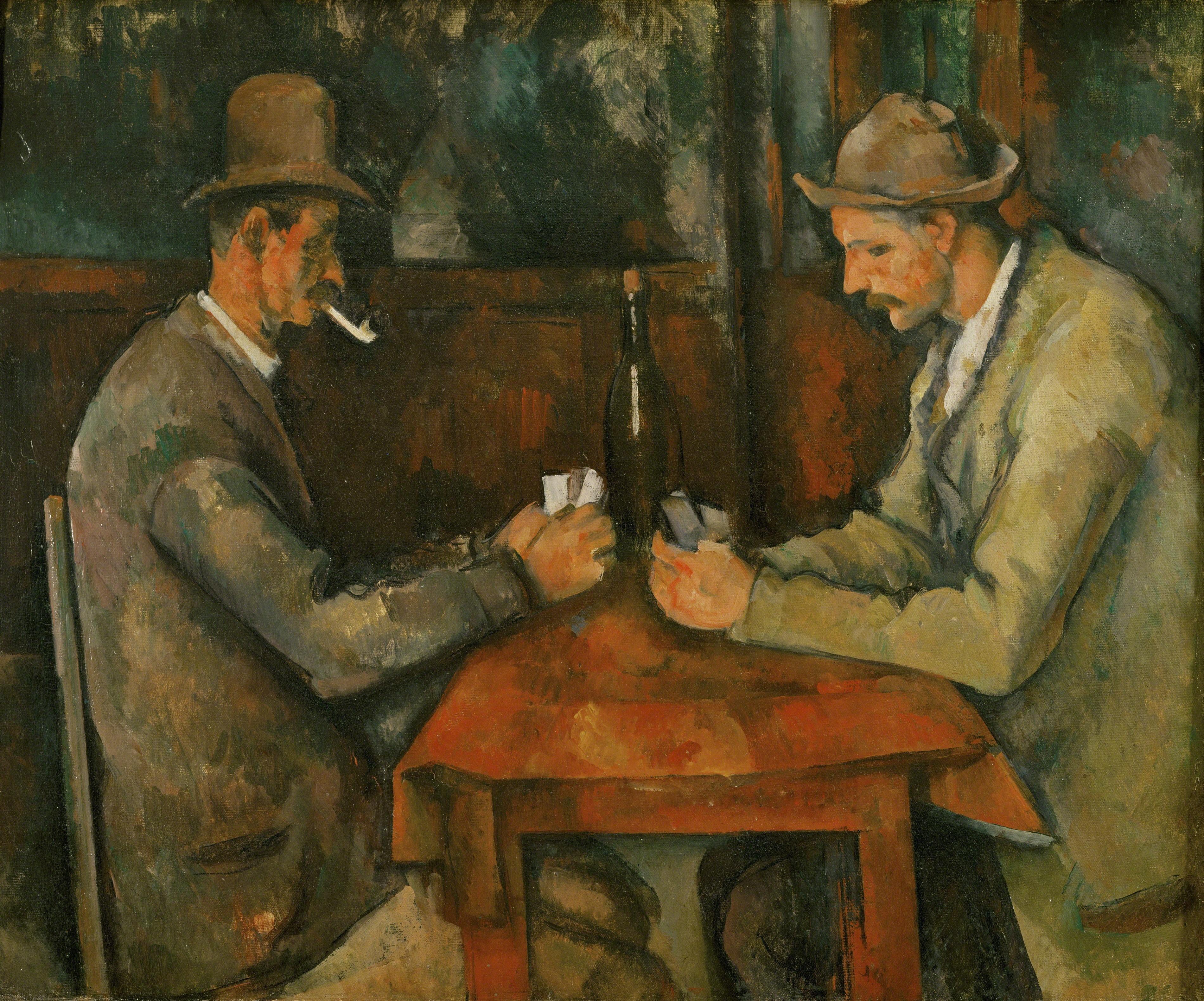 Ficheiro:Paul Cézanne - Les Joueurs de cartes.jpg