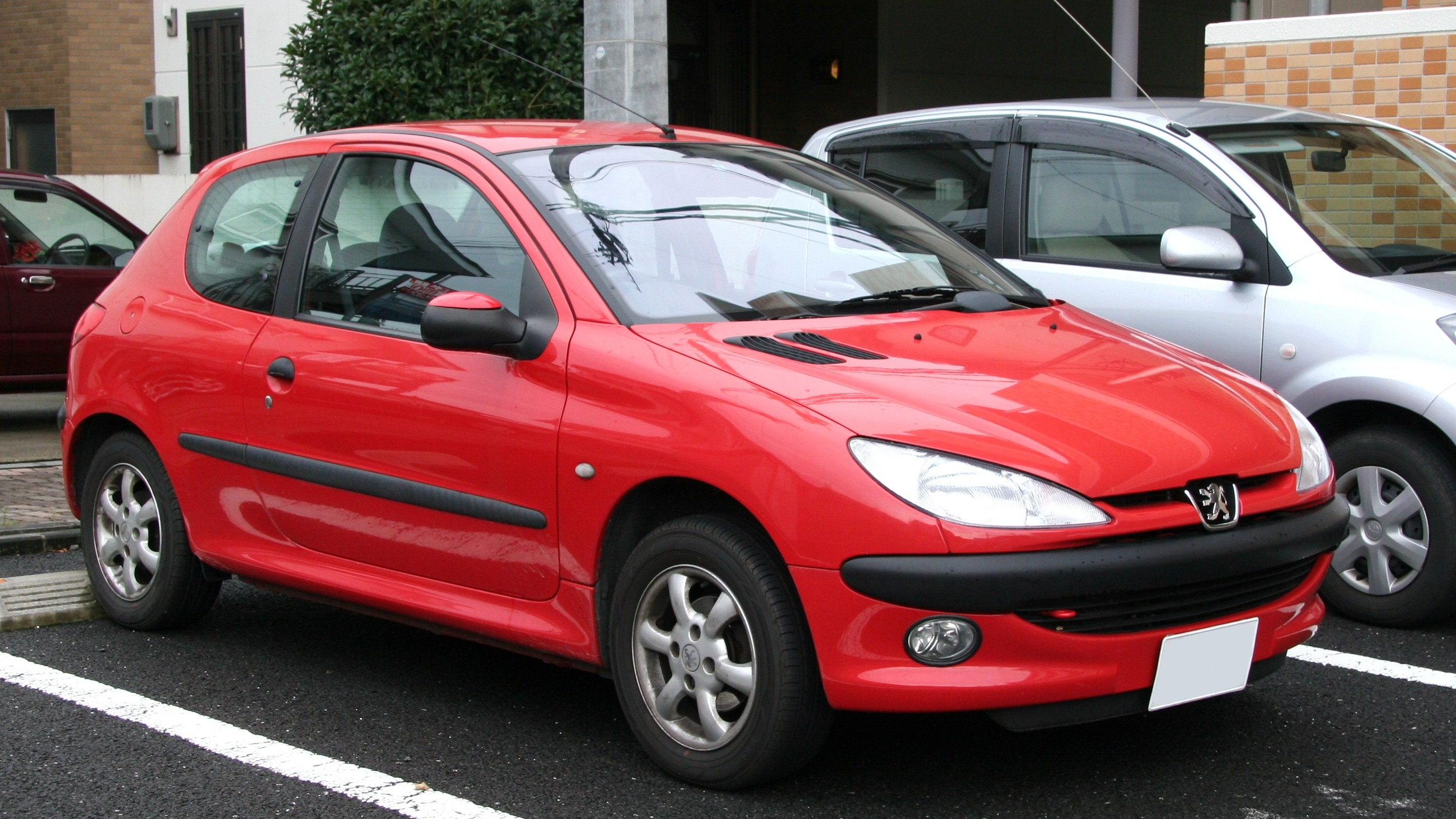 File Peugeot 206 Jpg Wikimedia Commons