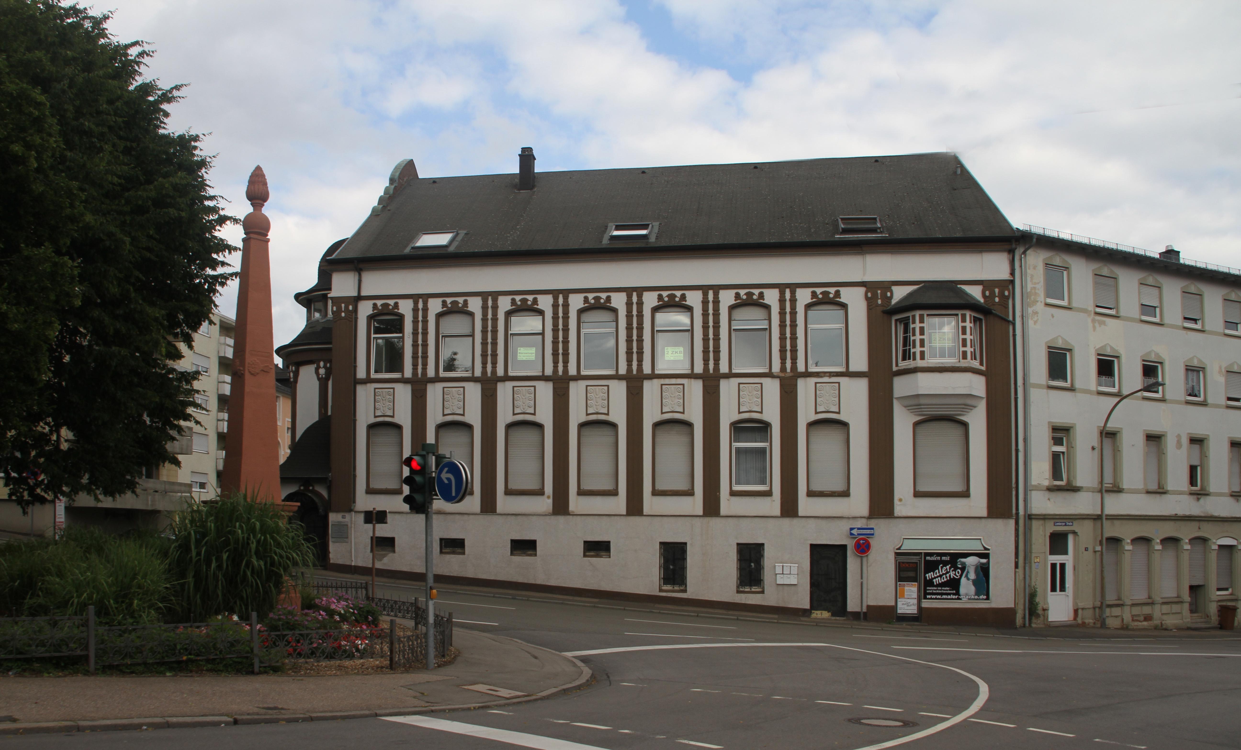 Maler Pirmasens file pirmasens volksgartenstr 23 04 gje jpg wikimedia commons