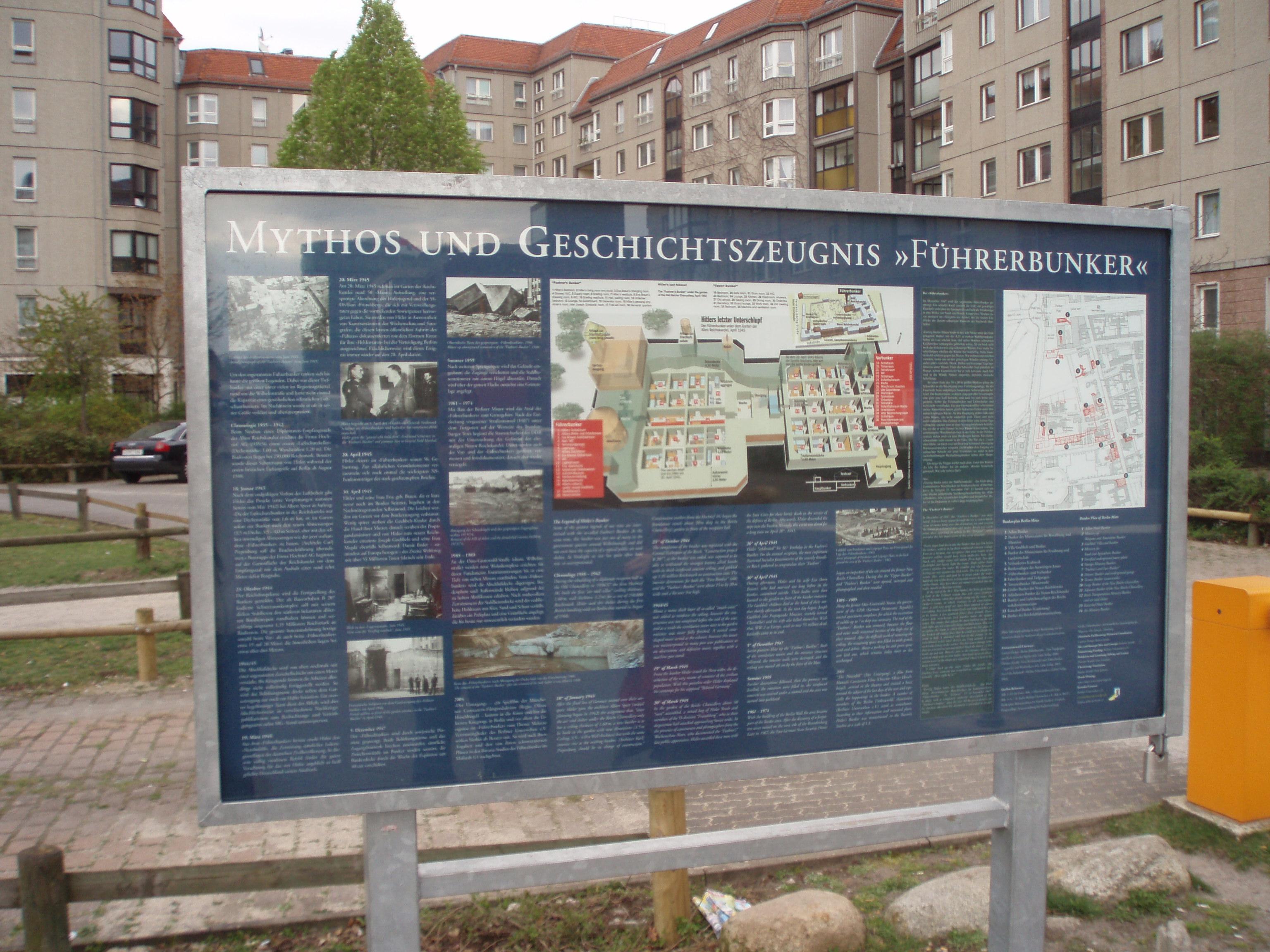 File Place Of Hitler Bunker