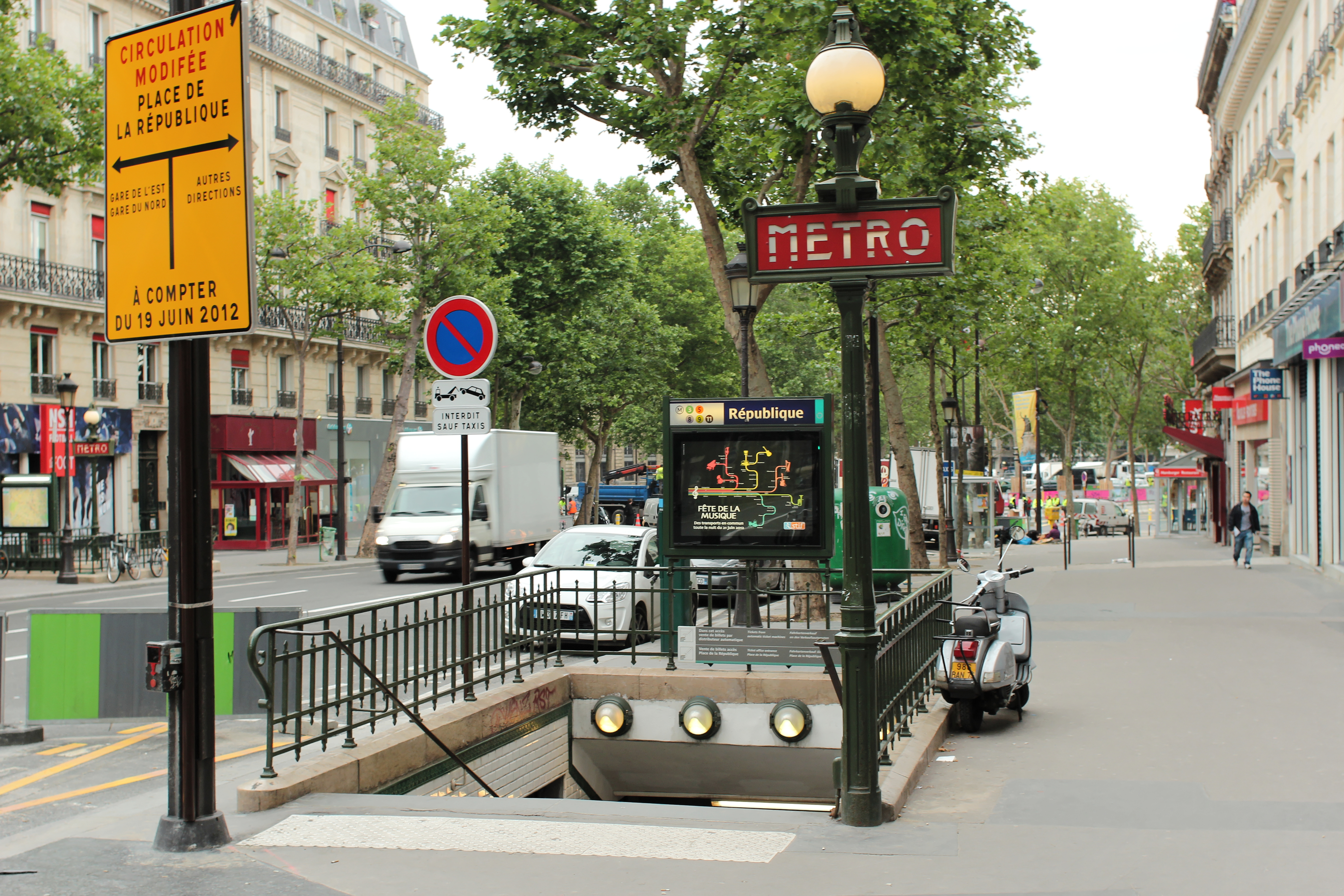 République (Paris Métro) - Wikiwand