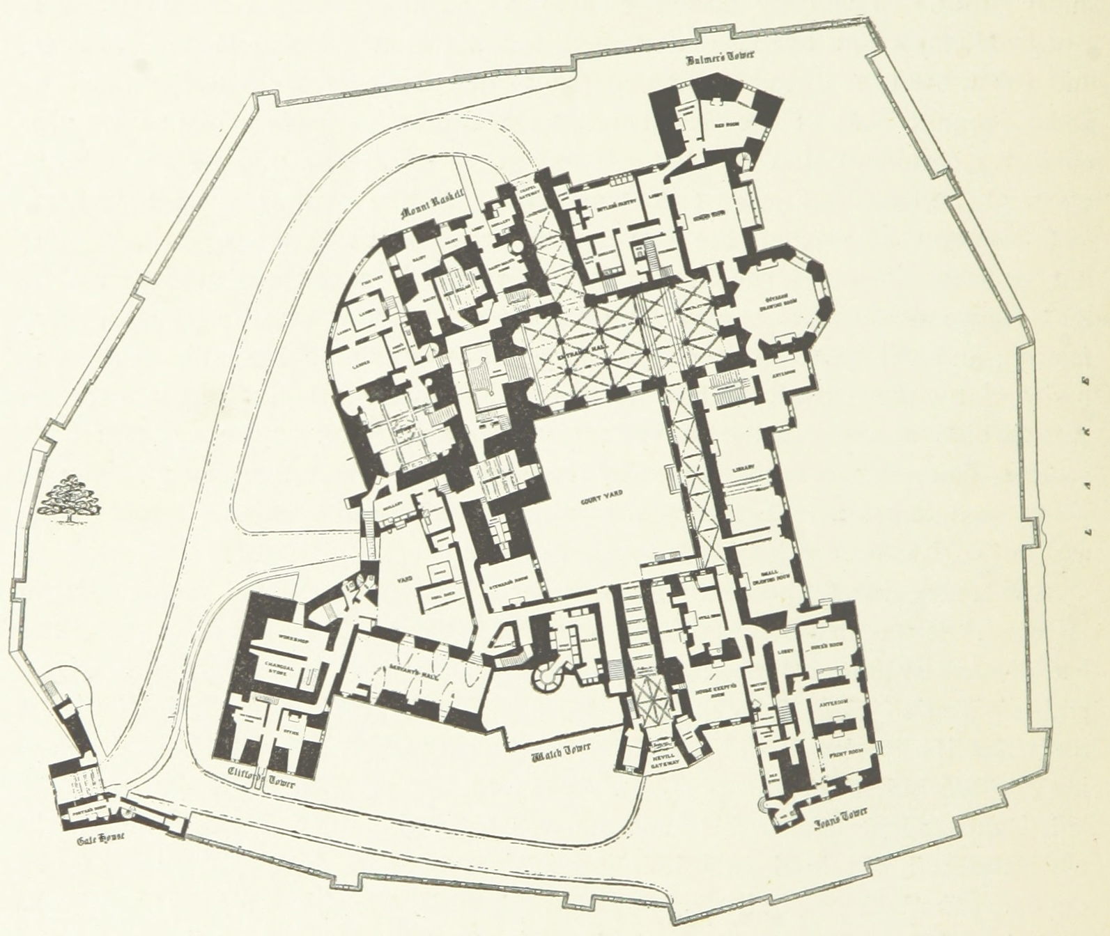 File:Plan_of_Raby_Castle_(1897) on Medieval Castle Floor Plans