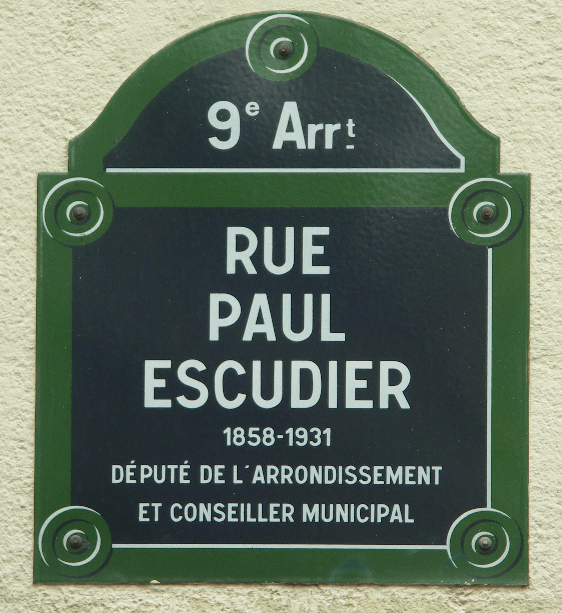 File plaque de nom de rue paris 21e si cle jpg wikimedia for Plaque nom de maison