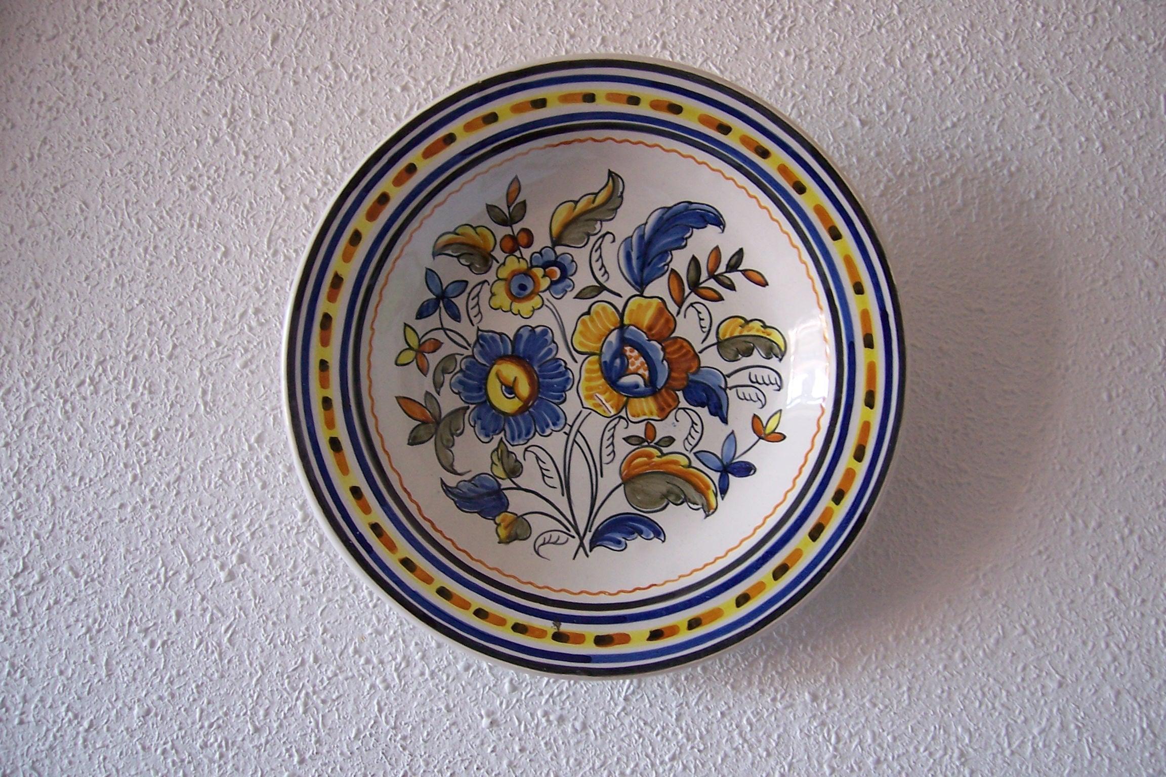Platos de ceramica talavera imagui for Platos de ceramica