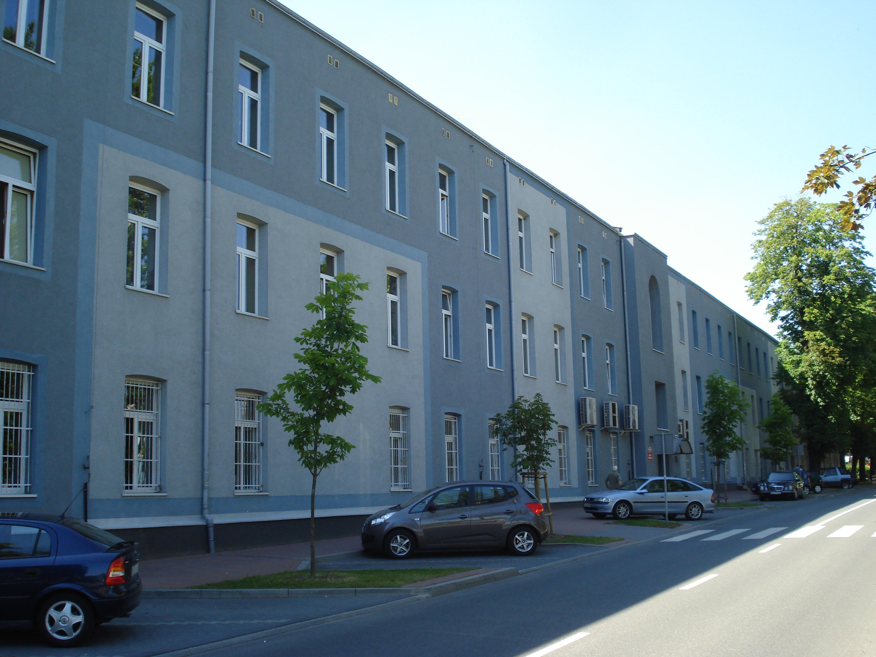 File:Politechnika Częstochowska Dąbrowskiego 3 jpg