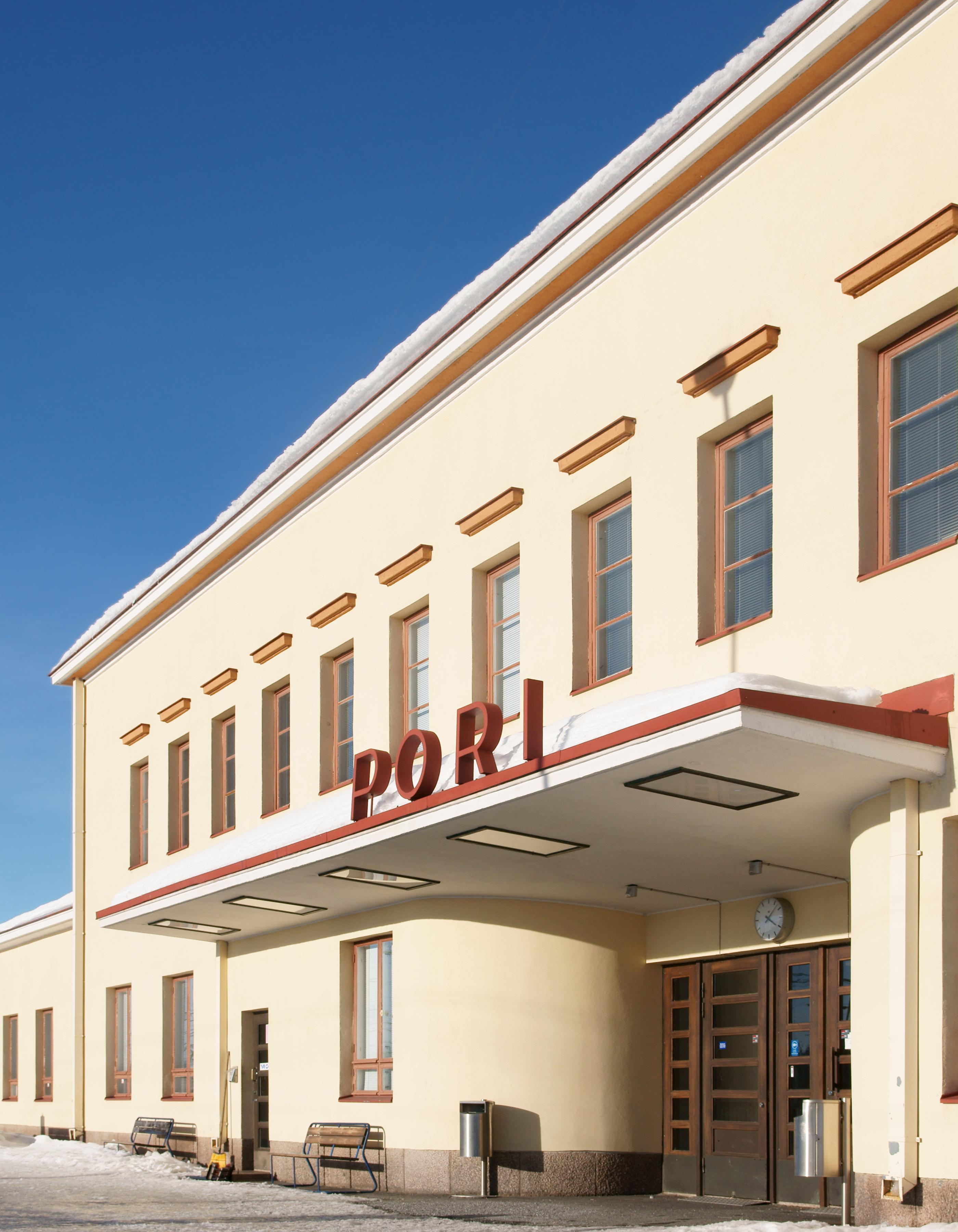 Pori Railway Station Wikipedia