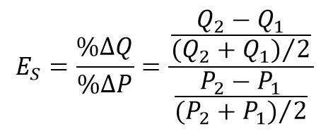 Price Elasticity Of Supply Wikipedia