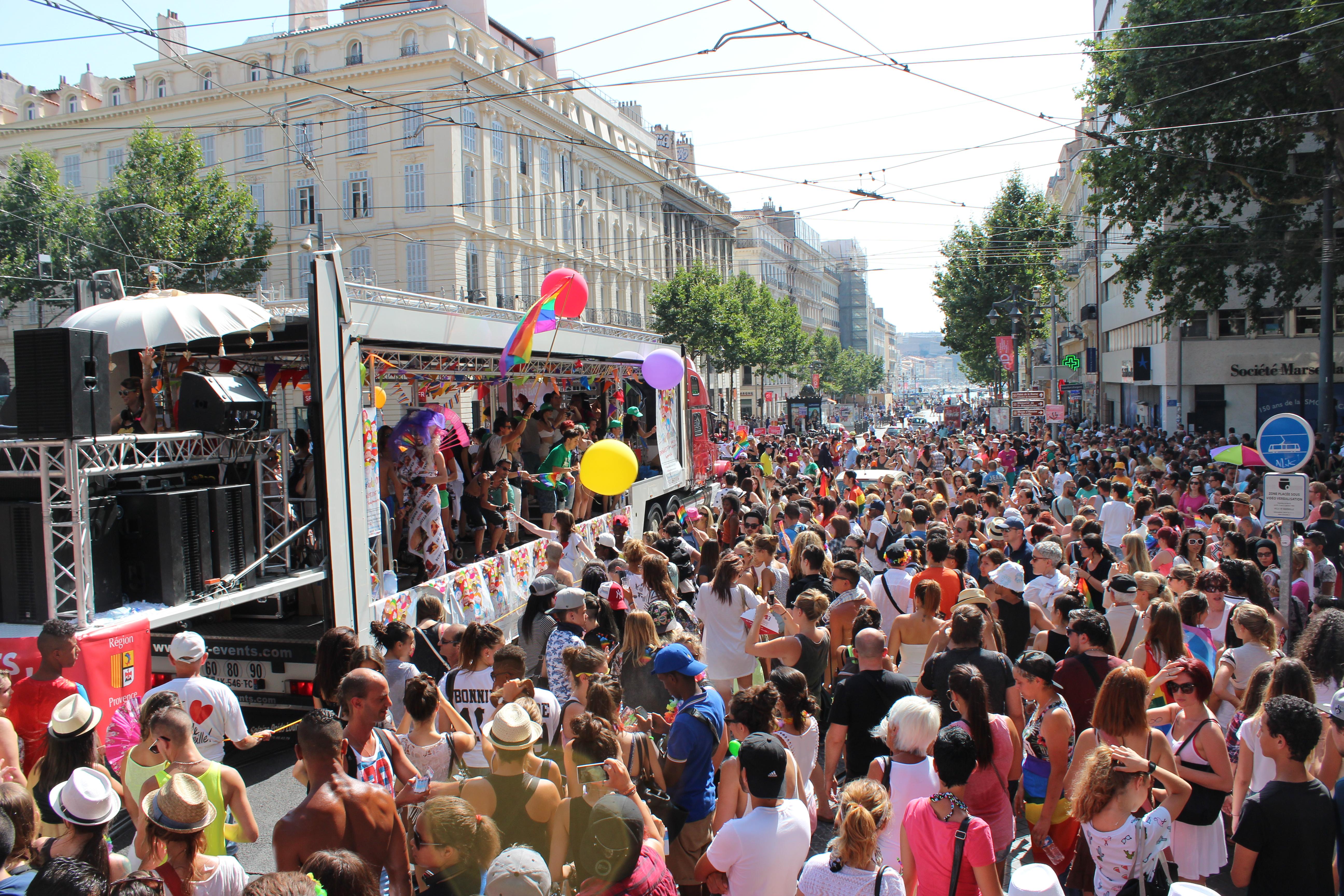 Gay Pride Marseille has been