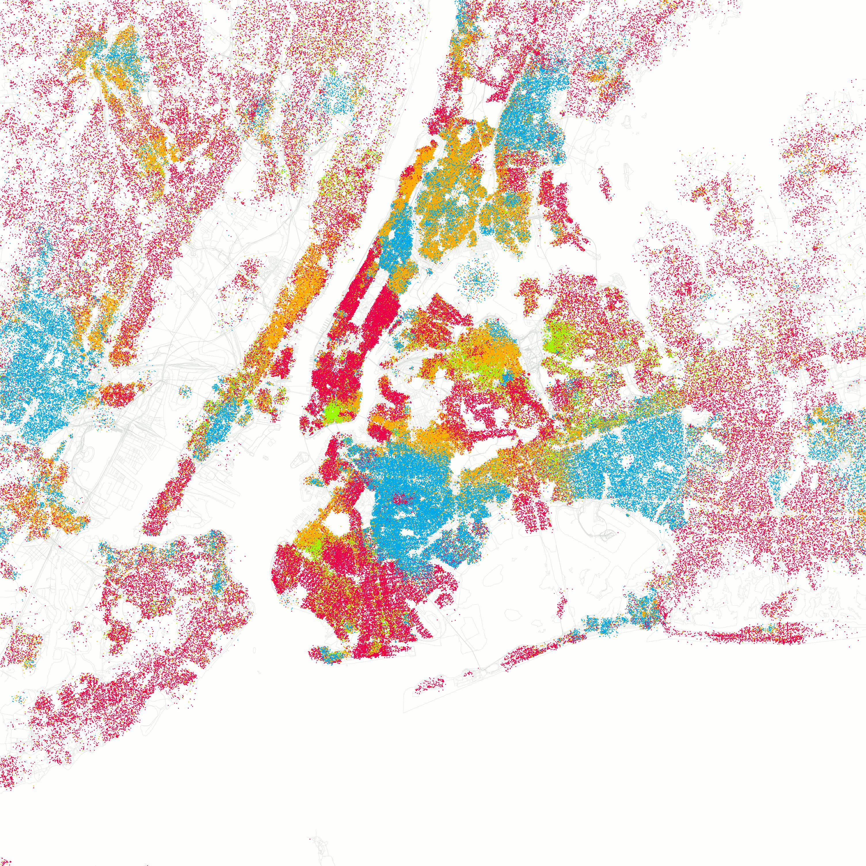 Staat New York City in New York City im Jahr