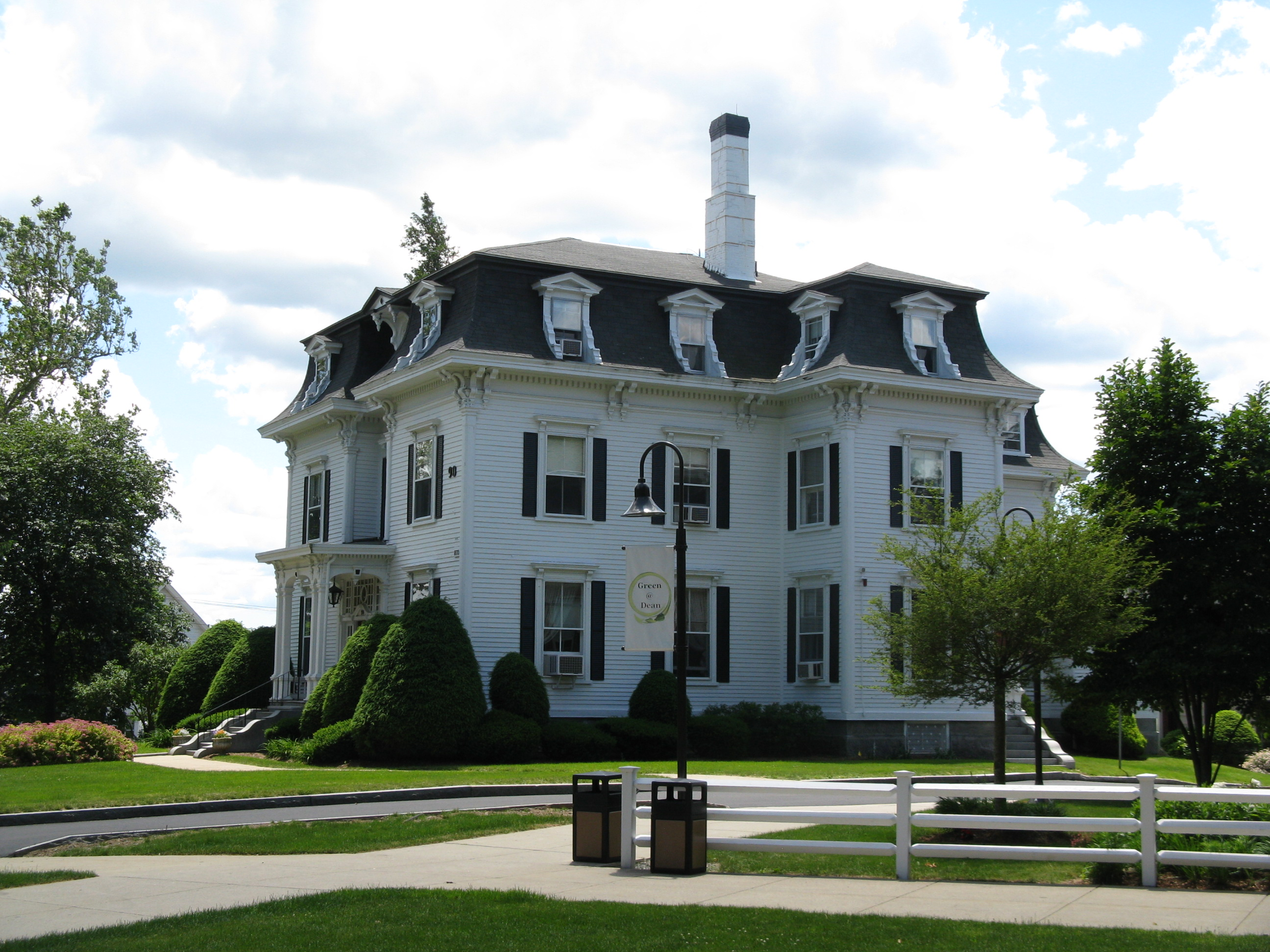 File ray mansion dean college admissions building for Building a house in ma