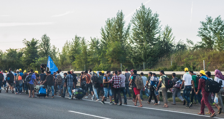 Bildergebnis für flüchtlinge march public domain