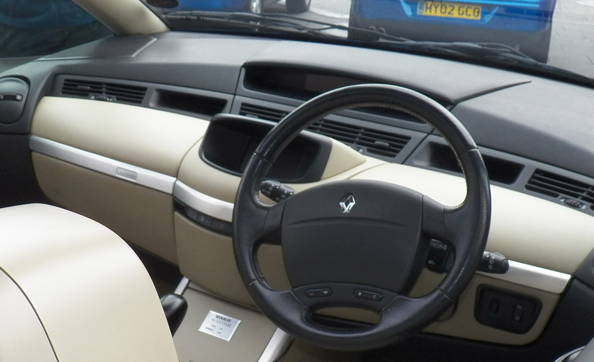 Soubor Renault Avantime 06 Interior Jpg Wikipedie