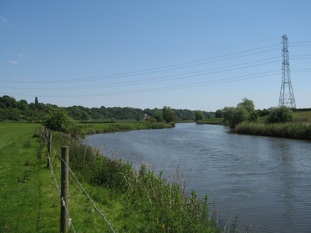 River Weaver near Little Leigh - geograph.org.uk - 1396822
