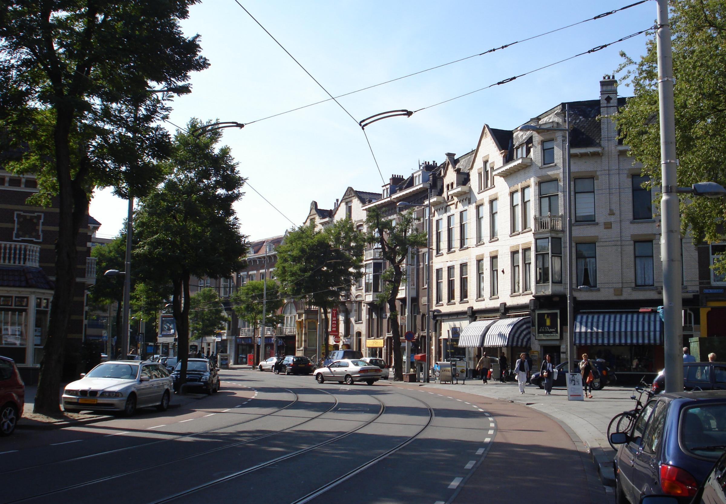 Description Rotterdam stad nieuwe binnenweg jpg