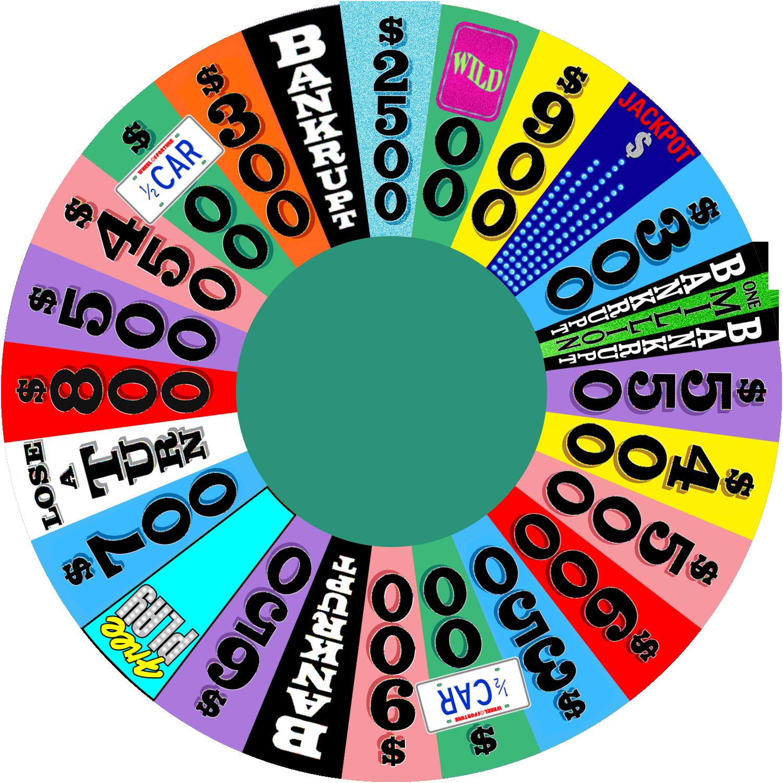Wheel Of Fortune Cake Recipe