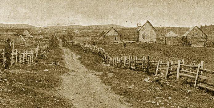 Canada – Un voyage de Québec vers la Gaspésie a travers les paroisses au 19 eme siècle Saint-Alexis-de-Matapedia%2C_vers_1895