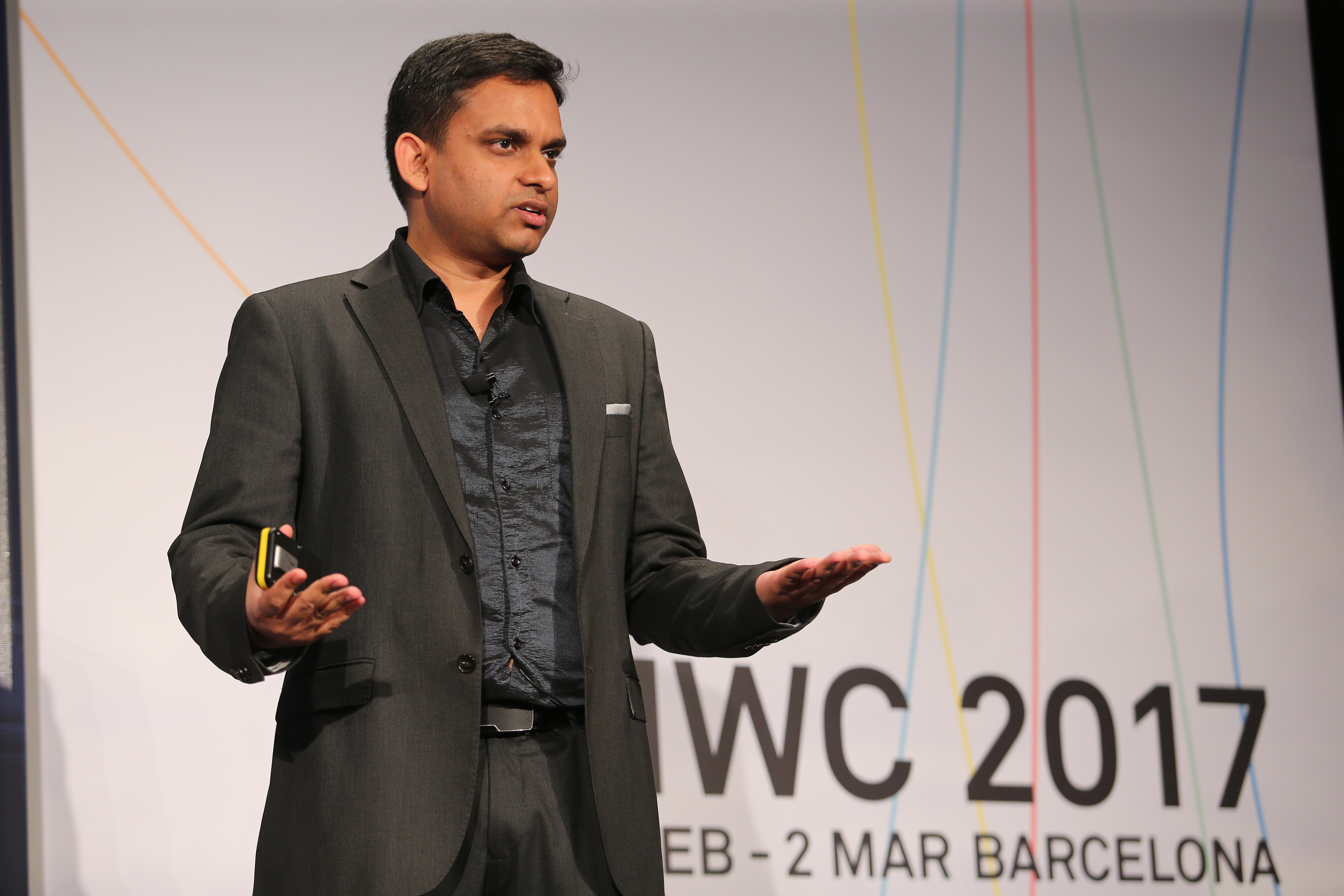 Sangeet Paul Choudary at the Mobile World Congress 2017
