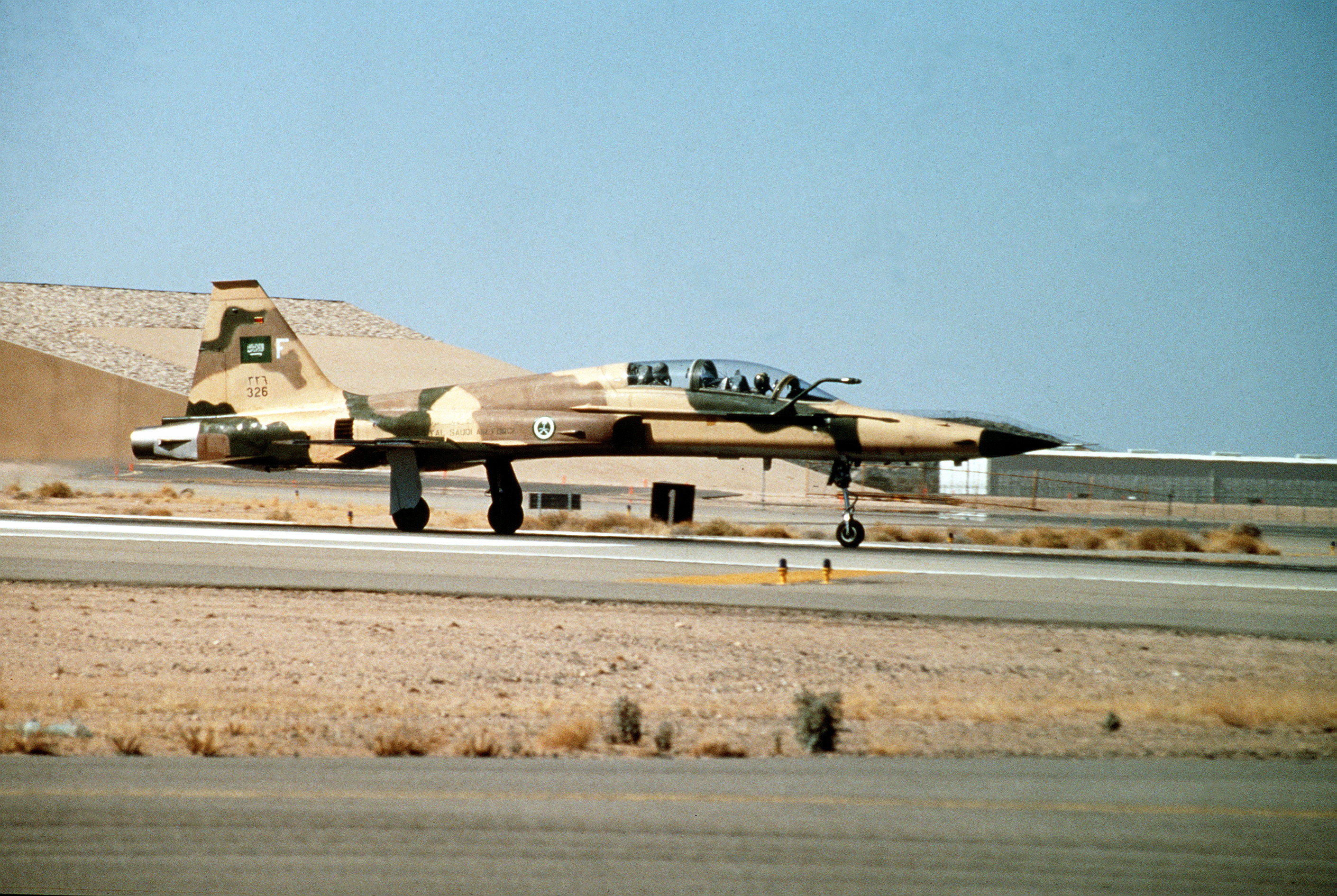 Northrop F 5 Wikipedia 1994 Ford Mustang Power Seat Wiring Diagram 5f Of Royal Saudi Air Force Taking Off